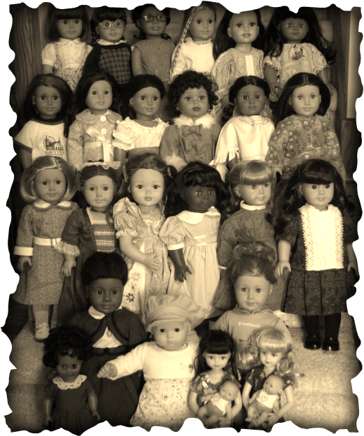 All the dolls - December 25th, 2009
